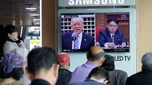 Reaktion auf Kims Raketentests: USA und China diskutieren neue Sanktionen
