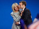 """Brigitte beeindruckt Franzosen: Wer ist Macrons """"Première Dame""""?"""