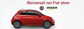 In Italien verkauft Fiat seine Modelle bei Amazon.