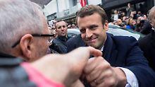 Verhaltene Wahlbeteiligung: Belgische Zeitung sieht Macron deutlich vorn