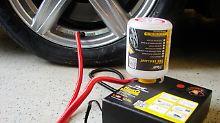 Nicht jedes Produkt überzeugt: Reifenpannen-Dichtmittel im Test