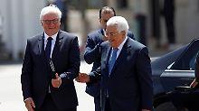 Unter Trumps Schirmherrschaft: Abbas zu Treffen mit Netanjahu bereit