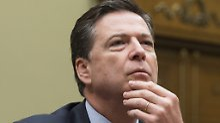Clinton-Ermittlungen vor US-Wahl: Bericht entlastet Ex-FBI-Chef Comey