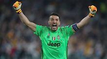 """Ich bin in absoluter Topform"": Gianluigi Buffon."
