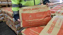 Der Baustoffriese Heidelbergcement schwächelt beim operativen Ergebnis.
