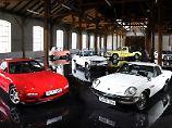 Ein ehemaliges Straßenbahn-Depot wird in Augsburg zum ersten deutschen Mazda-Museum.