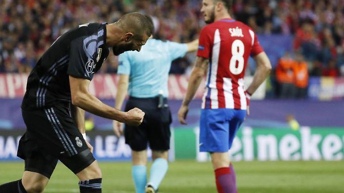 Karim Benzema war mit seinem brillanten Solo Wegbereiter für Iscos Todesstoß gegen Atlético Madrid.