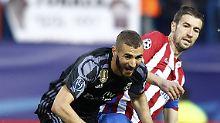 """Barbarischer Benzema"": Atlético schlampt, Real macht's genial"