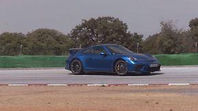Ein Rennsportwagen für die Straße: Saugmotor lässt Porsche 911 GT3 dröhnen