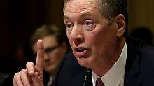 Lighthizer arbeitete für Reagan: Trump drückt Handelsbeauftragten durch