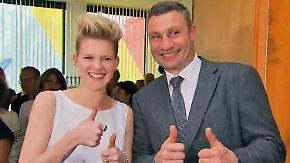 Countdown zum ESC in Kiew: Klitschko outet sich als Fan von deutscher Hoffnung Levina