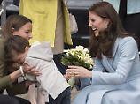 Kleiner Junge untröstlich: Herzogin Kate sorgt für Tränen