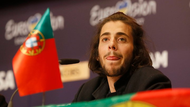 Salvador Sobral begeisterte mit seinem Song nicht nur Portugal.