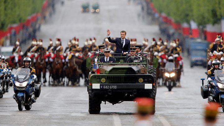 Nach der prunkvollen Amtseinführung braucht Macron eine parlamentarische Mehrheit, um seine Versprechen umzusetzen.