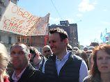 Abriss von Sowjet-Wohnblocks: Tausende protestieren in Moskau