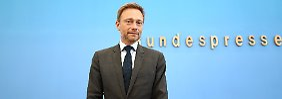 """Lindner froh über """"Rückenwind"""": FDP will regieren - aber nicht um jeden Preis"""