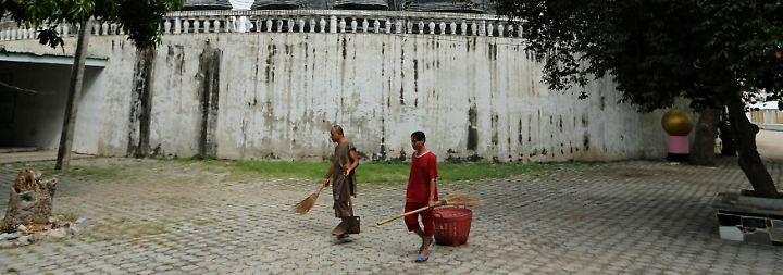 """""""Wat Thamkrabok hat mein Leben absolut verändert"""", sagte der 38-Jährige."""