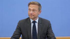 Läuft bei der FDP, Herr Lindner.
