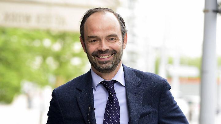 Edouard Philippe - bislang Bürgermeister von Le Havre - soll nun die französische Regierung führen.