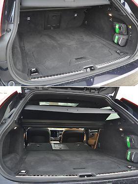 Der Kofferraum ist mit 560 Litern nicht der größte im Segment, aber wer behauptet, dass das Volumen nicht reicht, der sollte es ausprobieren.