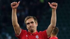 Spektakulär geringe Fehlerquote: Mit Lahm beendet einer der größten Fußballer seine Karriere