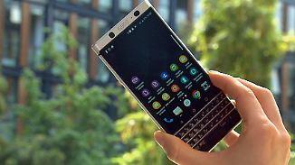 Verkaufsstart für neues Smartphone: Blackberry Keyone verbindet Tastatur mit Touchscreen