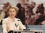 Bundeswehr statt Wehrmacht: Von der Leyen fordert neue Traditionslinie