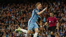 Kampf um Champions-League-Ränge: City bleibt auf Kurs, Arsenal wahrt Chance