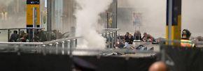 Schüsse, Schreie, Explosionen: Polizei simuliert Terroranschlag in Leipzig