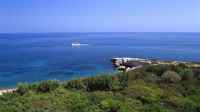 An der Südküste von Zypern.