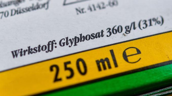 Glyphosat wird auch auf deutschen Feldern breit eingesetzt.
