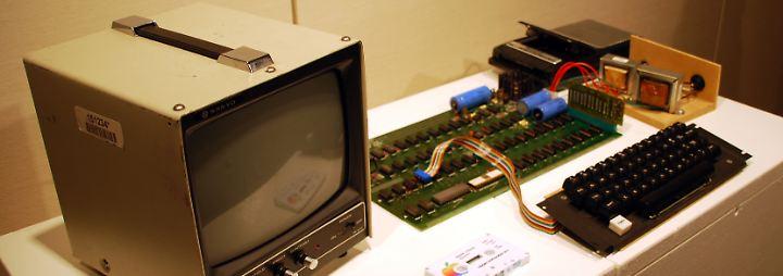 """Computer der ersten Stunde: """"Apple I"""" kommt in Köln unter den Hammer"""