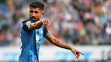 Kerem Demirbay hat sich für die deutsche Fußball-Nationalmannschaft entschieden.