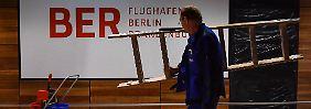 Eröffnung 2018 noch zu halten?: Flughafen BER droht neue Verzögerung