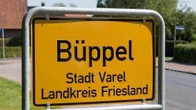 Die Tote wurde in der Wohnsiedlung von Büppel gefunden.