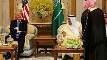Trumps Waffendeal mit Riad: Israel sorgt sich, der Iran giftet