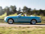 Der Rolls-Royce Dawn ist das wohl bequemste viersitzige Cabrio der Welt.