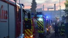 Millionenschaden in Oberursel: Feuer bricht in Rolls-Royce-Werk aus