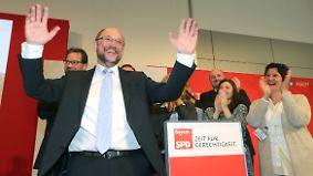 Schulz kämpft gegen Abwärtstrend: SPD stiftet Verwirrung um Wahlprogramm