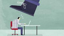 Recht verständlich: Wenn der Chef mit Rauswurf droht
