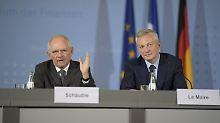 Keine Erleichterung vor 2018: Schäuble bleibt bei Athens Schulden hart