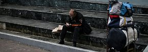 Ohne Arbeit, Geld oder Zukunft: Hunderttausende Griechen in Not