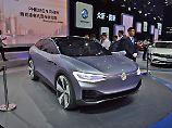 In Shanghai präsentierte VW seine handgefertigte Studie ihrer Submarke I.D.
