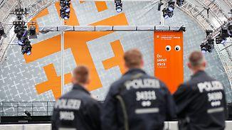 Kirchentag, DFB-Pokal, Festivals: Polizei und Großveranstalter verschärfen Sicherheitskontrollen