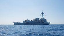 Auf Konfrontationskurs mit China: US-Kriegsschiff fährt provokantes Manöver