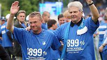 Streit um Transferausgaben: Rangnick wirft Hoffenheims Hopp Lügen vor