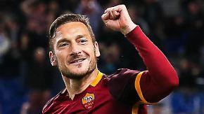 Ein Leben für den AS Rom: Francesco Totti sagt Ciao