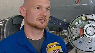 """Alexander Gerst im n-tv Interview: """"Wir tun gut daran, den Weltraum zu verstehen"""""""