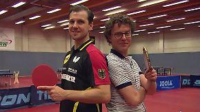 Im Schlagabtausch mit n-tv: Tischtennis-Star Timo Boll greift bei Heim-WM an