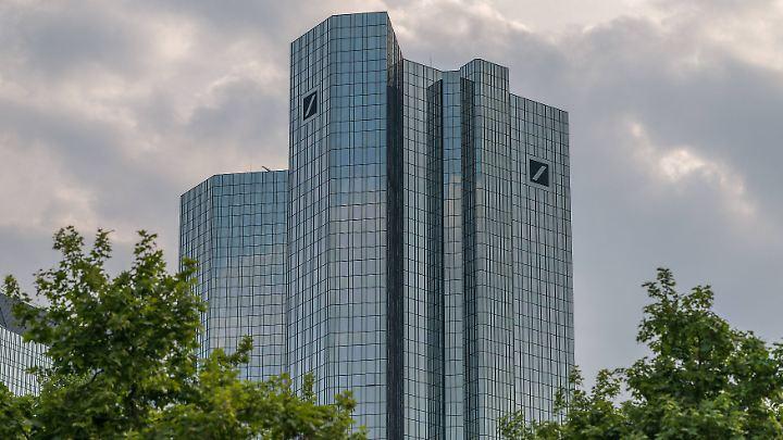 Deutsche-Bank-Tower in Frankfurt.
